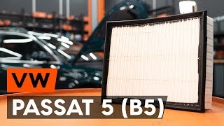 Spotlight Bulb installation VW PASSAT: video manual