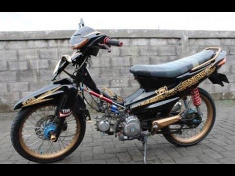 Motor Suzuki Smash Modifikasi