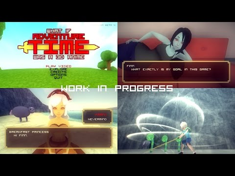 "What if ""Adventure Time"" was a 3D anime game (Work in Progress)"
