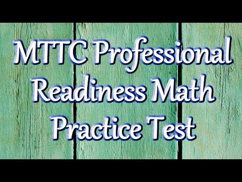 Free MTTC Professional Readiness Examination (096) Math Practice Test