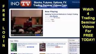 Trading Seminar Videos Forex Options Stock Futures Trader