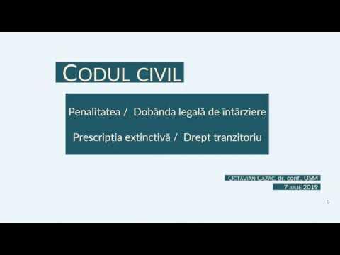 Aplicarea Codului civil modernizat actiunilor de incasare a dobanzii de intarziere si penalitatii MD