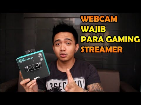WEBCAM WAJIB UNTUK LIVE STREAMING DAN YOUTUBE GAMING | LOGIT