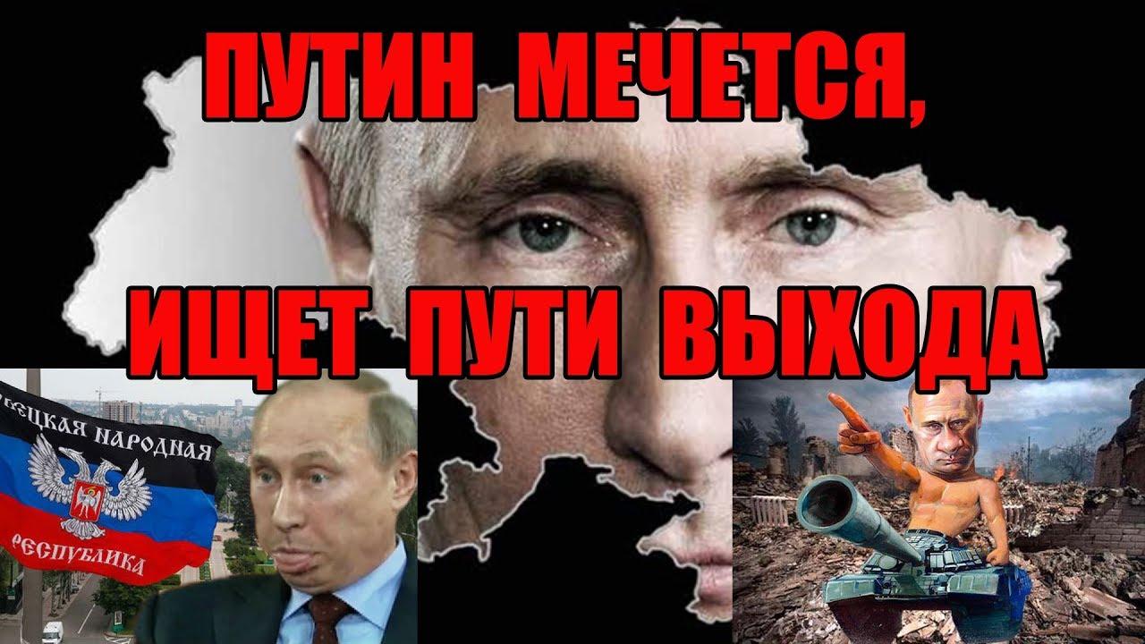 Донбасс. Три варианта выхода для  Путина. Виталий Портников.