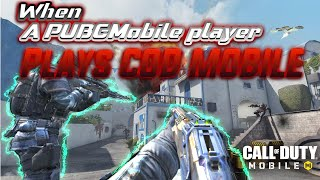 When A PubgM Player Plays COD Mobile || Call Of Duty Mobile || Exon Gaming