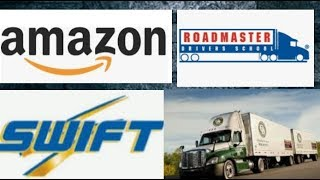 Amazon Pays For CDL/Roadmaster School Review/Swift Review/Old Dominion Hire Process