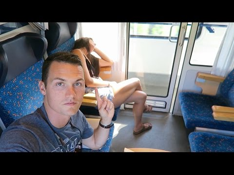 BRATISLAVA TO BUDAPEST BY TRAIN  (& Nate's still sick)