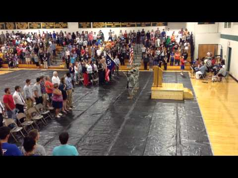 911 Color Guard 11 Sept 2015 at Buckingham County High School