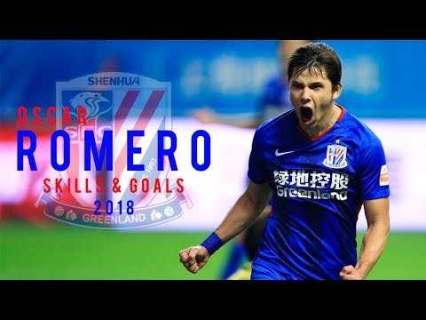 ÓSCAR ROMERO 2018/19 ● Skills, Goals and Assists ● Shanghai Shenhua | ‹ BrunoFootball ›