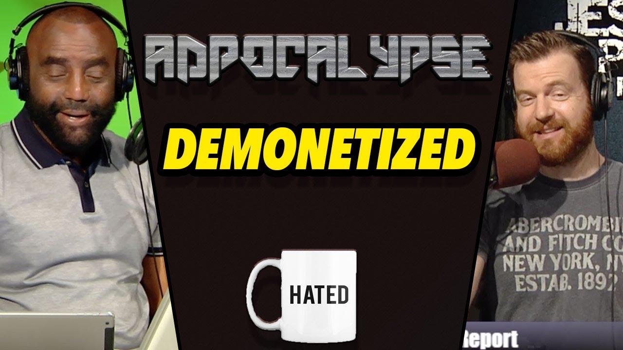Jesse Lee Peterson - Jesse's AMAZING Response to Getting Demonetized!
