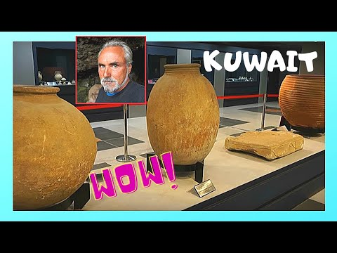 KUWAIT, GREEK antiquities in the NATIONAL MUSEUM, how did they end up here?