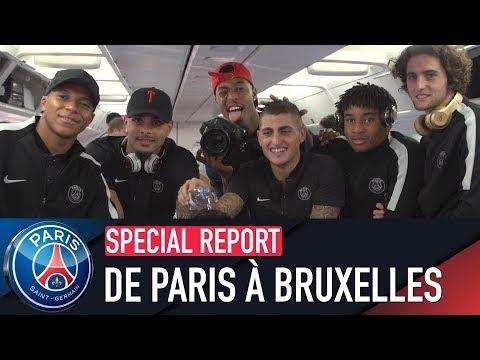 DE PARIS À BRUXELLES with Marco Verratti & Marquinhos