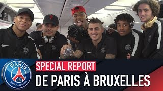 DE PARIS À BRUXELLES with Marco Verratti & Marquinhos