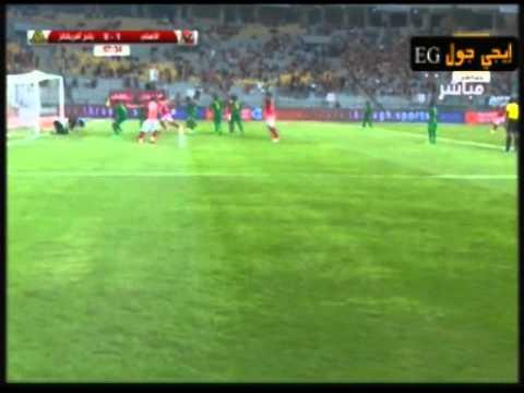 اهداف مباراة الأهلي 2-1 يانج أفريكانز 20-4-2016  دوري أبطال أفريقيا دور 16
