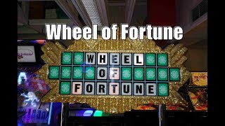 Watch me Play Wheel of Fortune By ICE at Adventure Landing Buffalo, NY