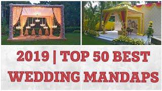 Best Wedding Mandaps 2019|mandap Decoration Ideas|traditional Flower Designs For Indian Theme