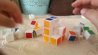 Как собрать разобранный кубик рубика