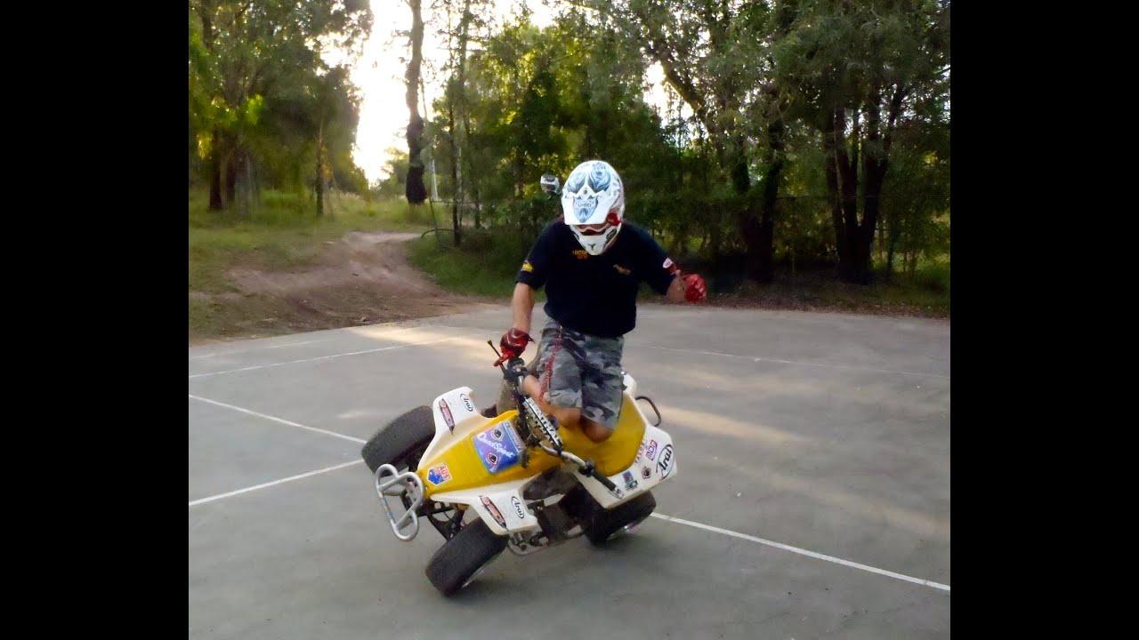 Suzuki Lt80 Paul Hannam Trick Riding Quad  Paul Hannam 01:11 HD