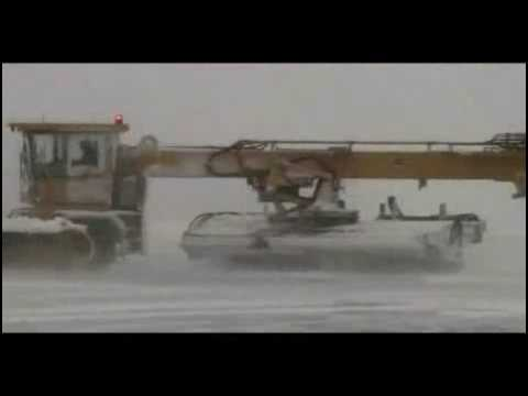 At Boston Logan - Snow Removal at Boston Logan International Airport