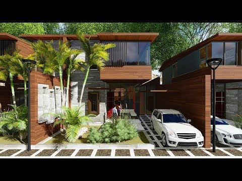 Design Concept - The Riverside Mansion @Uluwatu Bali
