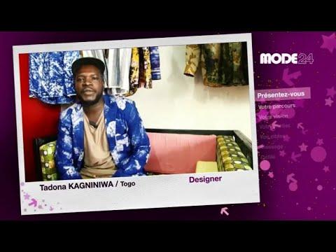 MODE 24 - Togo : Tadona Kagniniwa, créateur de mode
