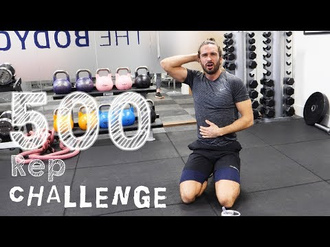 Brutal 500 Rep Workout Challenge To Celebrate 500K Subscribers | The Body Coach