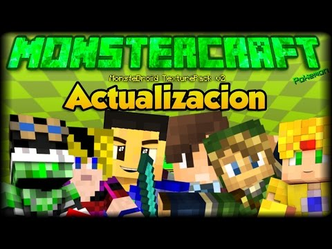 Minecraft PE 0.17.0 - 1.0 - MonsterCraft - MonsterDroiid Texture Pack Actualizado - Texturas