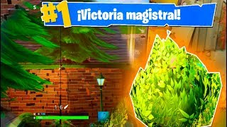 +12 KILLS DE ARBUSTO!! Fortnite: Battle Royale (PS4)