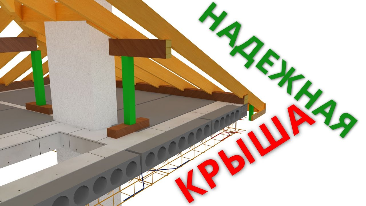 Проект БЕЗПРОБЛЕМНОЙ стропильной системы крыши.