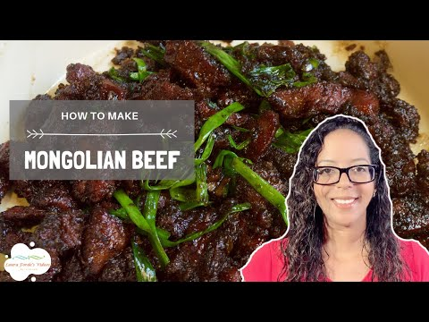 How To Make Mongolian Beef (View in HD)