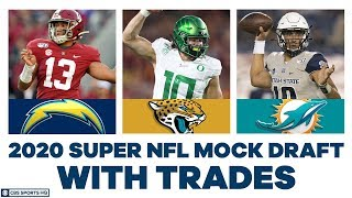 FULL First Round NFL Mock Draft WITH Trades | 2020 Super NFL Mock Draft 3.0 | CBS Sports HQ
