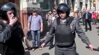 Зачистка Москвы. Инаугурация Путина (07.05.2012)