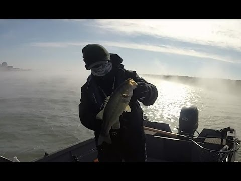 Winter Black Bass / Nuclear Lake / Kansas USA
