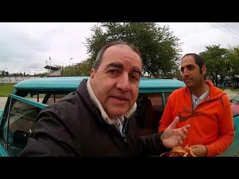 RASTROJERO AL RESCATE Osvaldo Cabral ayuda a Federico Bava en la ruta
