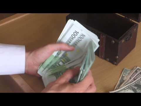 Tom zählt 10.000 Euro! Visualisieren hilft auf dem Weg zum Erfolg! Schaut euch dieses Video an!