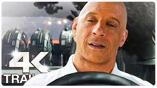 FAST AND FURIOUS 9 : 5 Minute Trailers (4K ULTRA HD) NEW 2021