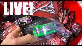 LIVE! MATTEL Disney CARS 3 Toys HUNTING!