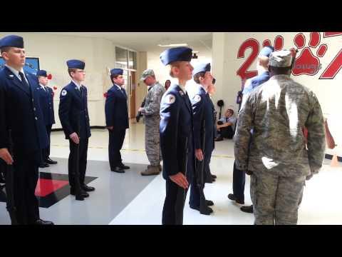 Jefferson City High School JROTC Armed Inspection