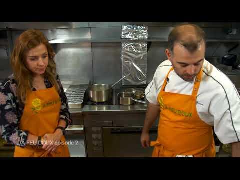 quasi-de-veau-basse-température,-salade-d'asperges-et-melon