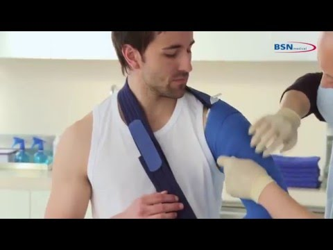 Coaptation Splint With Actimove Sling En Youtube