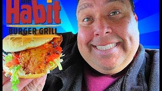 The Habit Burger Grill® Golden Fried Chicken Sandwich Review!