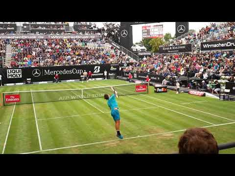 Roger Federer highlights vs Mischa Zverev - Mercedes Cup 2018