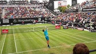 Roger Federer highlights vs Mischa Zverev - Mercedes Cup 2018
