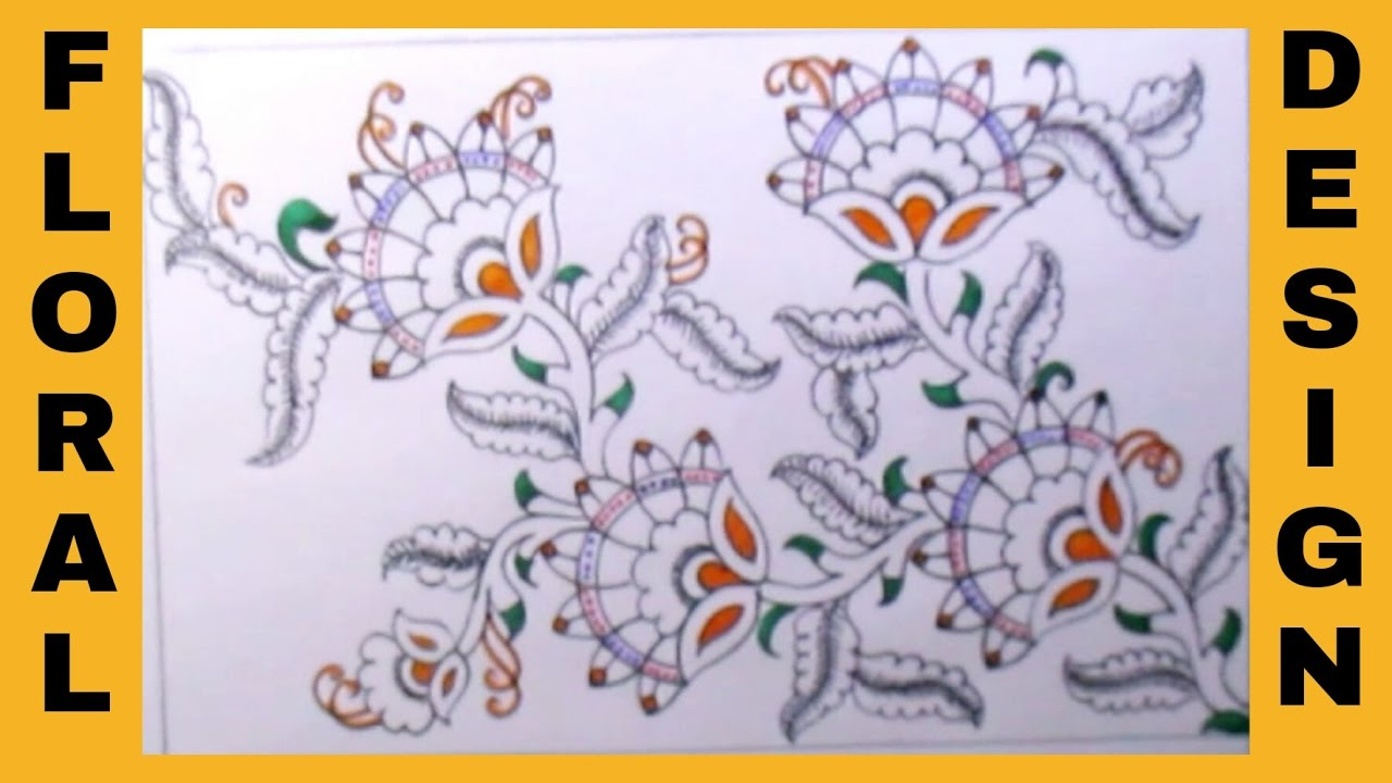 Hand embroidery designs drawing floral designs drawing for hand embroidery designs drawing floral designs drawing for embroidery saree bankloansurffo Gallery