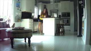 How to paint a prefinished Hardwood Floor