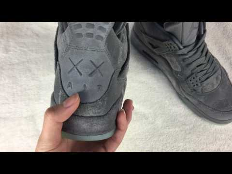 KAWS x Air Jordan 4 Cool Grey - Cheap Air Jordan For Sale