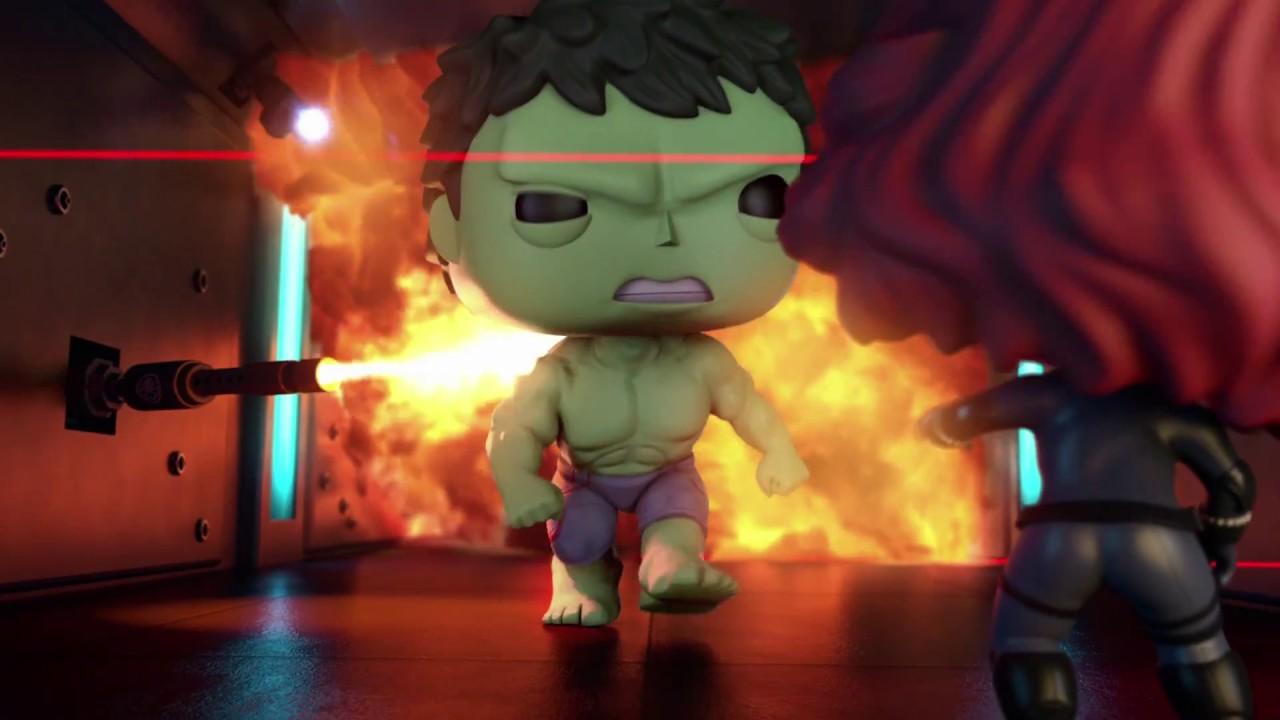 Marvel Amp Funko Animated Short Tick Tick Smash Youtube