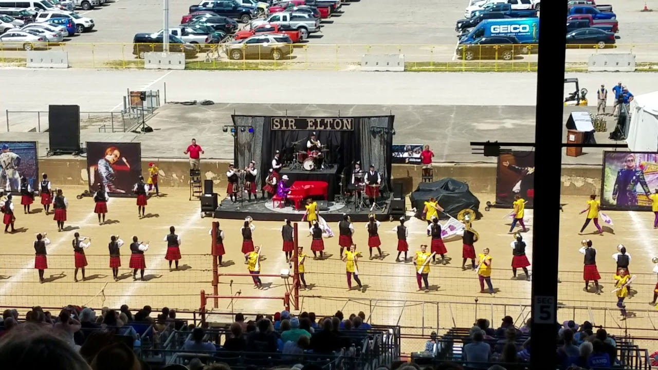 Anderson Marching Highlanders 2019 Indiana State Fair Band Day Prelims