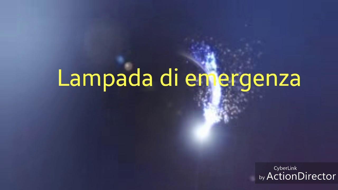 Batterie Per Lampade Di Emergenza Ova.Sostituzione Batterie Lampada Di Emergenza Fai Da Te