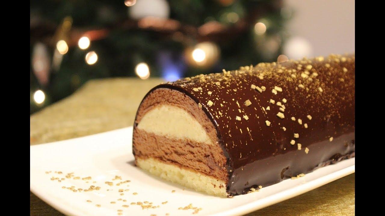 Buche Chocolat Caramel Creme Brulee Youtube